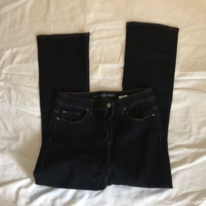 Chico's Barely Boot jeans. Size 1 (medium) short.